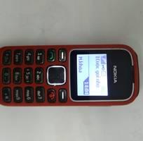 1 Điện thoại Nokia 1280 đỏ cổ điển mới zin.