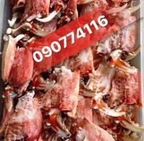 12 Thịt Càng Cúm, Càng Ghẹ, Đùi Ghẹ lớn, Vế Cua, các loại thịt bóc sẵn, nấu bánh canh, Súp cua.