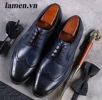 7 Giày tây công sở nam, giày cưới nam đẹp nhất hiện nay