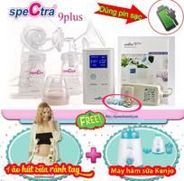 Máy hút sữa Spectra 9 Plus đôi Cao cấp