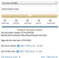 3 Huawei Y7 Pro (2019) mua TGDĐ, 99% fullbox còn BH lâu nữ xài