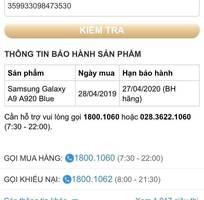 5 Galaxy a9 2018 128g blue bh dài
