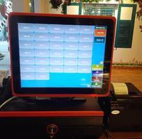 Máy tính tiền siêu đẹp cho quán trà chanh tại Hà Nội