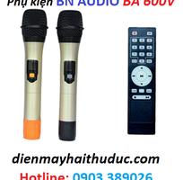 2 Loa kéo BN Audio BA 600V-600W hàng mới nhập khẩu từ YORBA, LINDA, USA