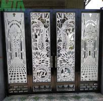 3 Cty Trung Dương Chuyên  Gia Công Cơ Khí Sắt Nhôm: cửa cuốn, nhôm,vách kính, cầu thang,..