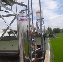 9 Lọc nước phèn cột lọc composite sach phèn giá rẻ.