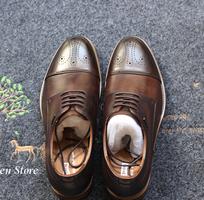 1 Giày da nam công sở Oxford cao cấp, giày cưới nam đẹp nhất