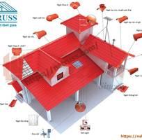 1 Tư vấn thiết kế thi công mái nhà lợp ngói prime