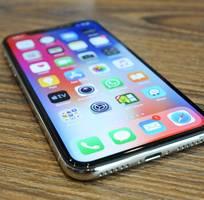 1 Bán iPhone X 256G màu Silver máy mới xách tay Mỹ về, đẹp long lanh.