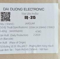 5 Equalizer Jarguar EQ-315 hàng chính hãng xuất xứ Việt Nam