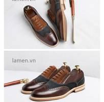 5 Giay Oxford,giày cưới,giày công sở cao cấp Lamen