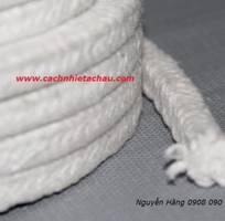 2 Dây thừng Ceramic Fiber Rope and Braid chịu nhiệt độ cao