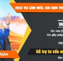 Dịch vụ làm mới, gia hạn Visa Việt Nam, Quốc Tế nhanh chóng 99,99 thành công