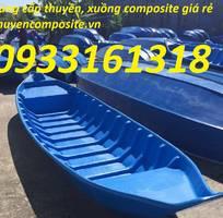 Thuyền, xuồng composite, thuyền tam bản, thuyền ba lá giá rẻ