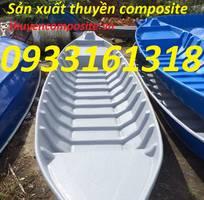 2 Thuyền, xuồng composite, thuyền tam bản, thuyền ba lá giá rẻ