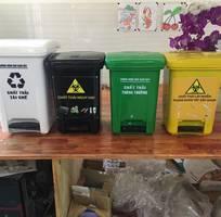 2 Chuyên phân phối các loại thùng chứa rác thải bệnh viện - thùng rác y tế