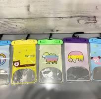 Túi đựng điện thoại chống nước hình thú màu sắc PKDT0002