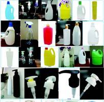 Vỏ chai nhựa đựng nước rửa chén, nước giặt, nước xả vải, nước rửa tay