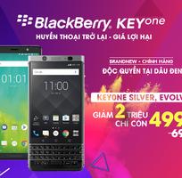 BlackBerry Keyone Silver New: 4tr990 - Giá độc quyền tại Dâu Đen