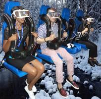 7 Kính thực tế ảo, phim 9DVR, phim 360 độ 12D, Dome theatre