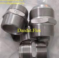 4 Đầu nối inox - Phụ kiện inox - Đầu nối cho Ống mềm inox - Khớp nối mềm inox