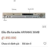 3 Bán đầu karaoke Arirang mới 100%, có Bluetooth, HDMI, Đĩa+list Vol66