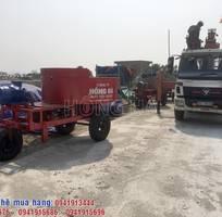 3 Khai xuân chuyến hàng đầu tiên với máy trộn bê tông cưỡng bức Hồng Hà đi Ninh Bình