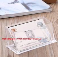 16 Kệ mica đựng name card, kệ danh thiếp cho khách sạn, nhà hàng, văn phòng