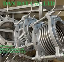 5 Hàng mẫu 2020 ống mềm inox có bọc PJ chống cháykhớp co giãn inoxkhớp nối mềm lắp bích