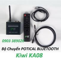 1 Bộ chuyển Optical Kiwi KA08 tích hợp Bluetooth xa đến 10m, USB phát MP3