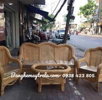 7 Bàn ghế sofa mây tre đan