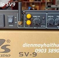 5 Vang karaoke PS Audio-SV9 hỗ trợ chống hú, Optical, bluetooth