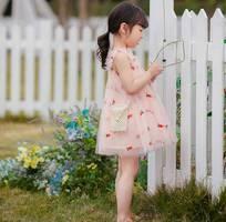 1 Váy Babydoll cho bé yêu Món quà mẹ dành tặng bé trong mùa hè này.