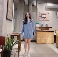 3 T-shirt Denim Hàng Quảng châu chuẩn đét Nàng nào đang lùng e í