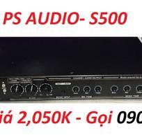 Vang karaoke PS Audio-S500 hỗ trợ chống hú, Revert echo, bluetooth