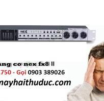 Vang karaoke NEX-FX8 II hỗ trợ chống hú, Optical, bluetooth xa đến 10m