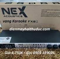 1 Vang karaoke NEX-FX8 II hỗ trợ chống hú, Optical, bluetooth xa đến 10m