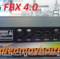 3 Mixer chống hú FBX 4.0 chống Hú Rít cho nhiều micro phát cùng lúc