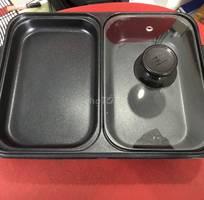 Bếp điện mini 2 ngăn