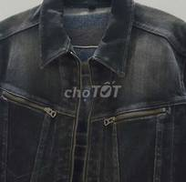 Jean jacket made in japan