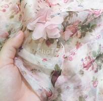 1 Đầm đính hoa new nguyên tag 100%