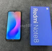 2 Xiaomi redmi note 8 fullbox bh vàng đủ hóa đơn