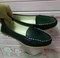 Giày lười da đơn giản sang trọng