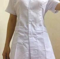 1 Bộ áo blouse nữ áo y tá nữ áo điều dưỡng nữ cộc tay