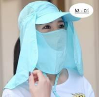 Mũ chống nắng nữ