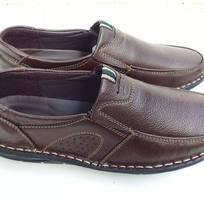1 Giày lười nam da bò thật đế khâu