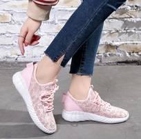 1 Giày sneaker nữ phong cách hàn quốc êm chân thoáng khí cho mùa hè năng động