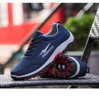 2 Giày thể thao nam - fashion xanh đế nệm khí