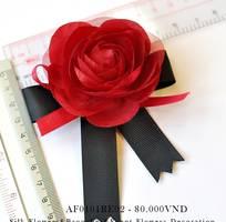 Nơ hoa cài áo af0101re02