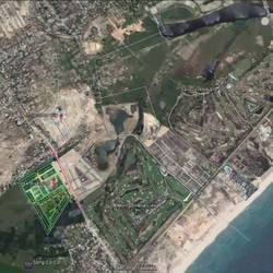 Bán 2 lô đất 3 mặt thoáng dự án Sentosa Riverside đã có sổ, mặt tiền đường 20,5m